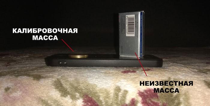 Как работают весы на смартфоне