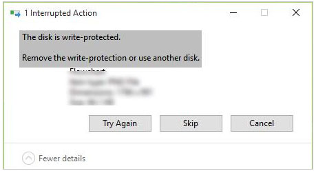 disk write protection
