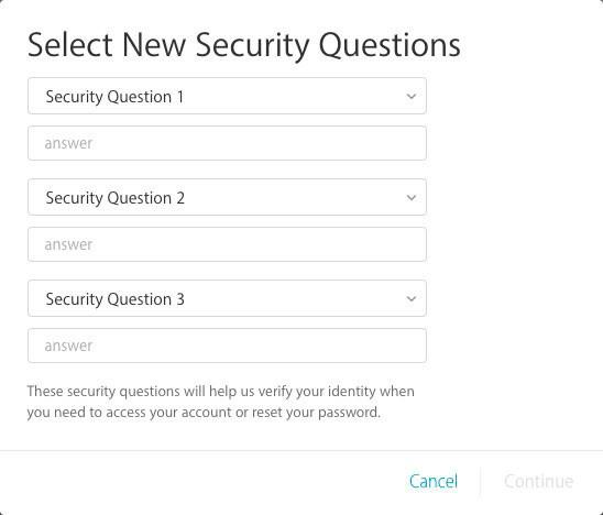 Даем ответы на проверочные вопросы Эппл