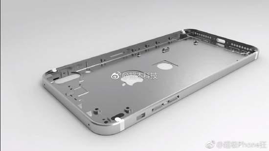 задняя сторона Айфон 8