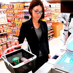 Японцы создали Smart-корзину для супермаркетов