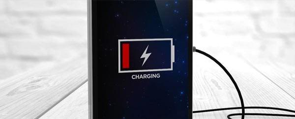 Процедура зарядки батареи