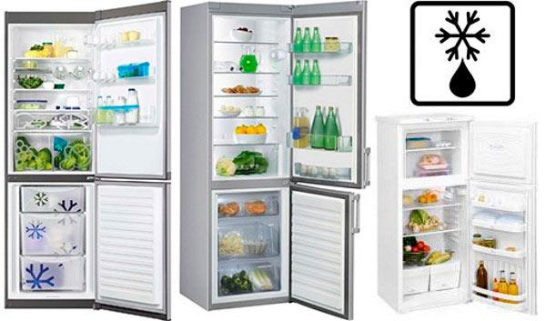 Холодильное оборудования с капельной разморозкой