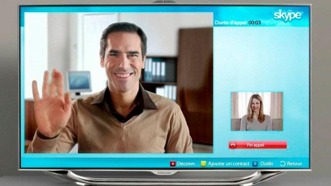 Skype в СмартТВ