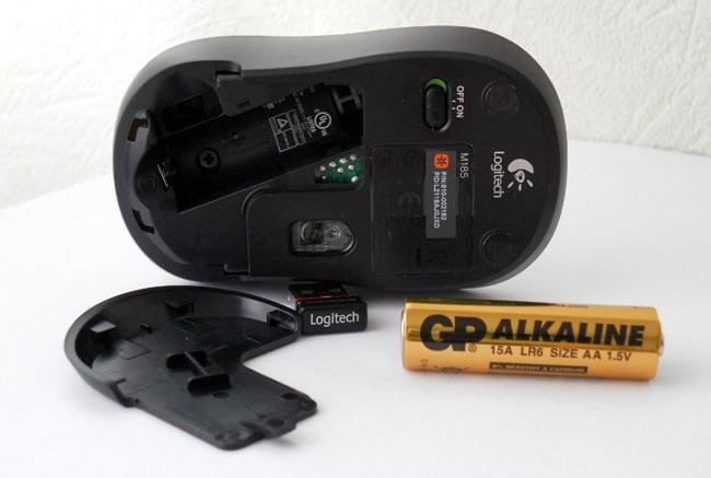 Строение Bluetooth мыши