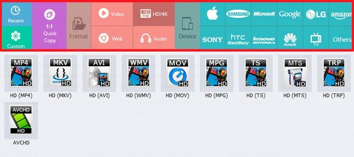 Поддерживаемые типы файлов wonderfox-dvd-video
