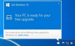 Значок обновления windows 7 до 10