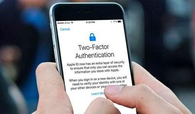 Два этапа авторизации на Айфоне