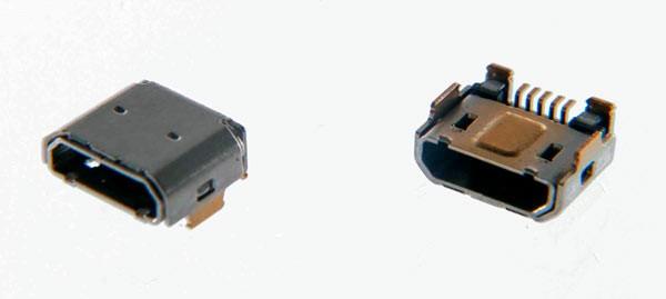 Снятый порт USBmicro