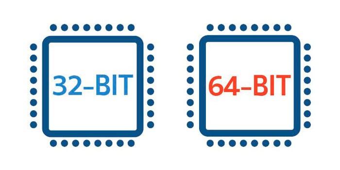 Два процессора: 64 и 32 bit