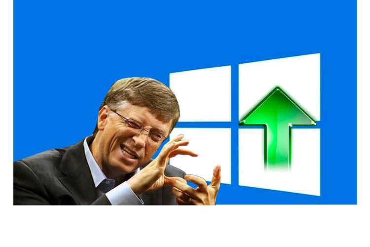 Билл Гейтс и Windows 10