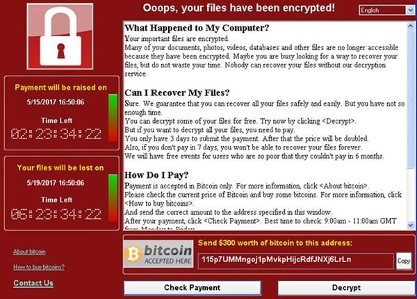 Вирусная атака на компьютер