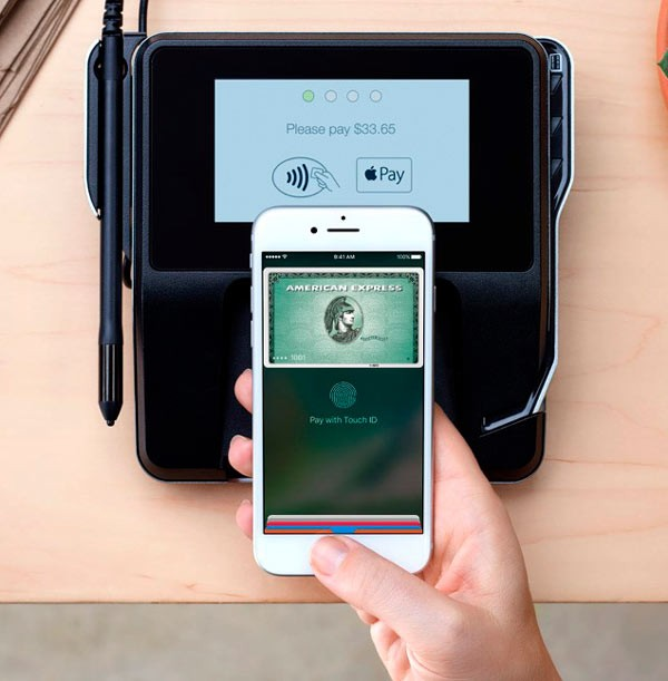 Терминал оплаты с поддержкой платежной системы Apple