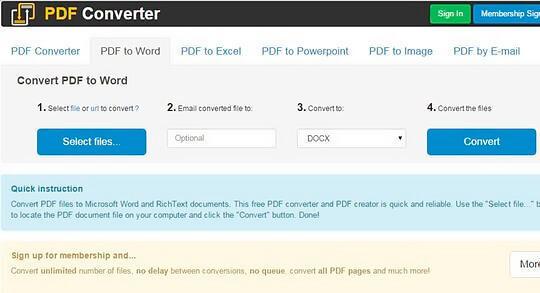 Конвертер PDF в Ворд