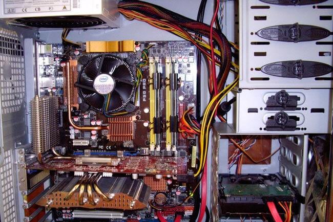 Так выглядит чистый компьютер