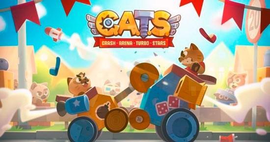 Коты: креш арена