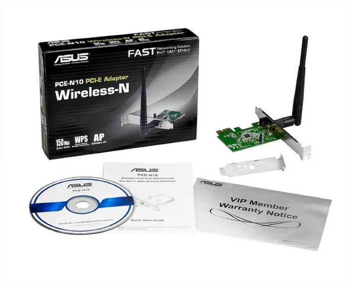ASUS PCE-N10 Wifi адаптер
