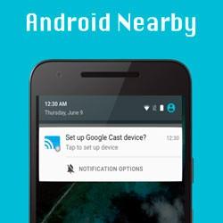 Функция Google Nearby в телефоне Android — что это, как включить?