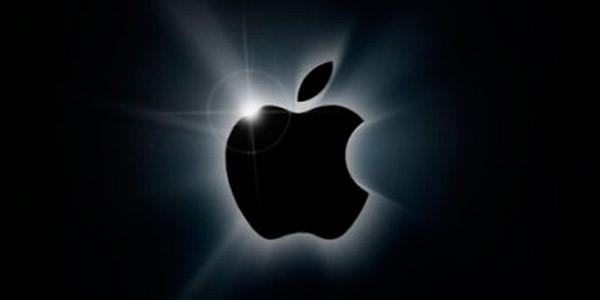 Темный логотип Apple