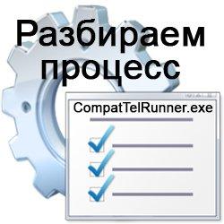CompatTelRunner.exe что за процесс и почему грузит систему?
