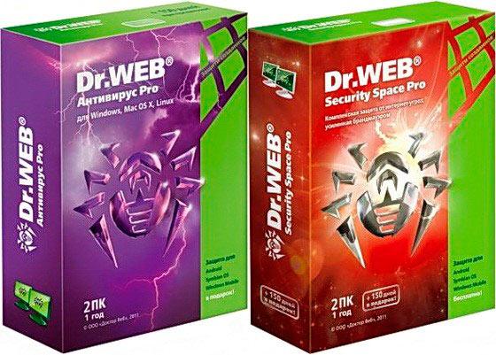 Качественная защита от вирусов - Dr Web