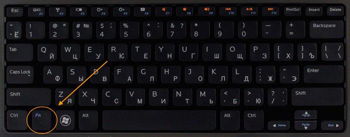 Фн на клавиатуре