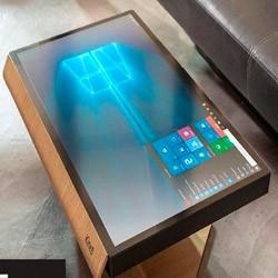 Создан сенсорный стол под управлением Виндовс