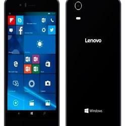 Lenovo анонсировала новый Windows смартфон