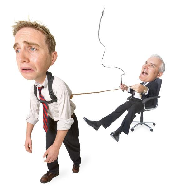 Менеджер управляет работником