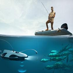 PowerRay — уникальный рыболовный дрон