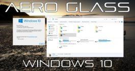 Как включить тему Aero Glass и настройка режима для системы Windows 10