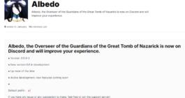 Описание бота Albedo для Дискорда и список команд, как скачать и установить