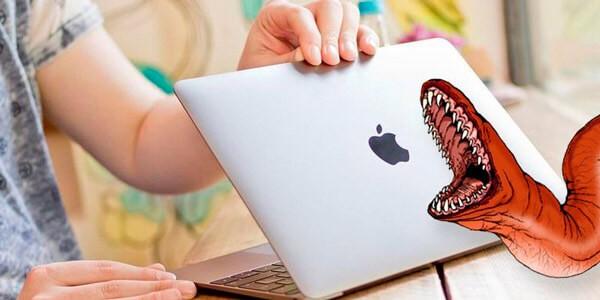 macBook атакован червем!