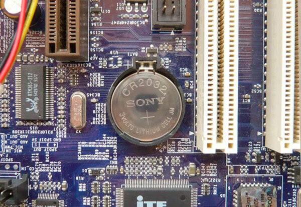 Элемент питания BIOS-КМОС