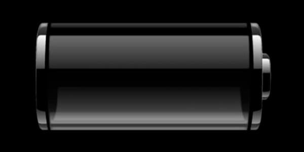 Пустой заряд батарейки