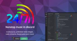 Описание и команды музыкального боат 24/7, как добавить на сервер в Дискорде