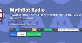 Описание и список команд радиобота, как добавить на сервер в Дискорде