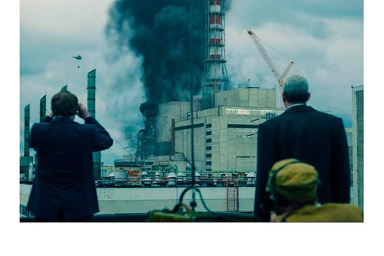 """Кадр из сериала """"Чернобыль"""" HBO"""