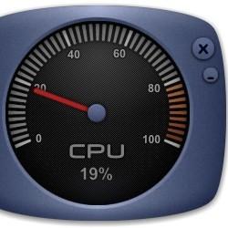 Температура процессора виджет