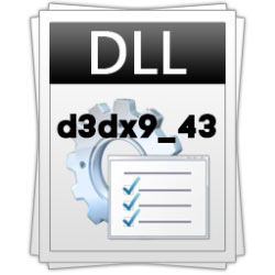 d3dx9_43.dll скачать для Windows 7 / 8 /10 бесплатно