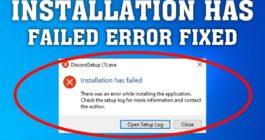 Причины ошибки Installation has failed и 5 способов для установки Discord