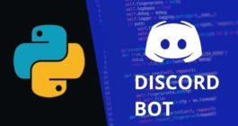 Как сделать bot для Discord на Python, правила написания и установки помощника