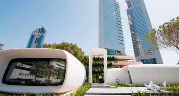 Уникальный офисный центр в Дубаях