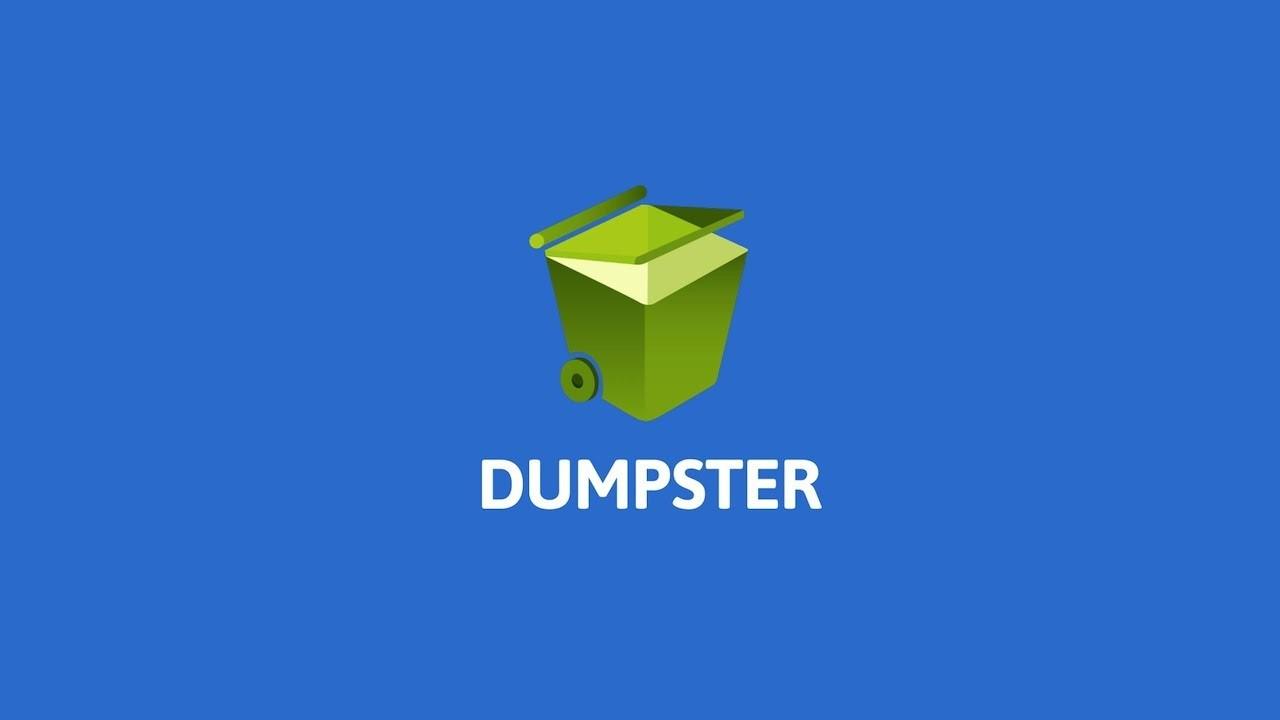 dumpster приложение