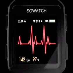Farasha SoWatch: умные часы с диагностикой сердечных заболеваний