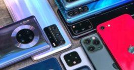 ТОП 20 лучших флагманских смартфонов 2020 года