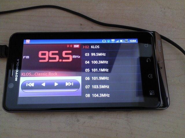 ФМ-радио на телефоне
