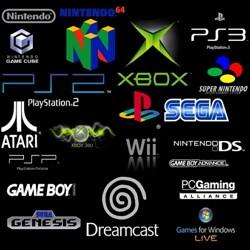 Логотипы разных игровых приставок