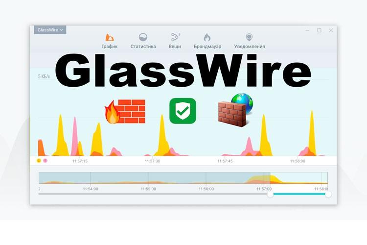 Обзор приложения GlassWire
