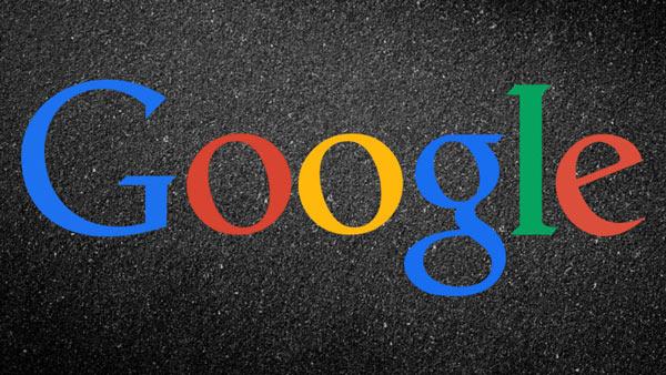 Надпись Гугл